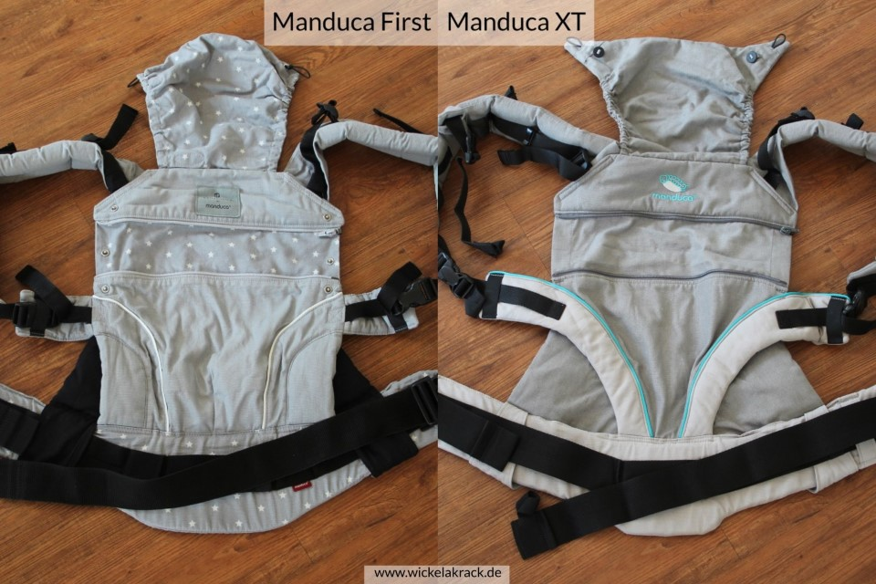 Manduca XT Manduca First Vergleich 01 - Manduca XT und Manduca First im Vergleich ( Vergleich, Tragehilfenvergleich, Tragehilfe, Trageberatung, Manduca XT, Manduca First, Manduca )