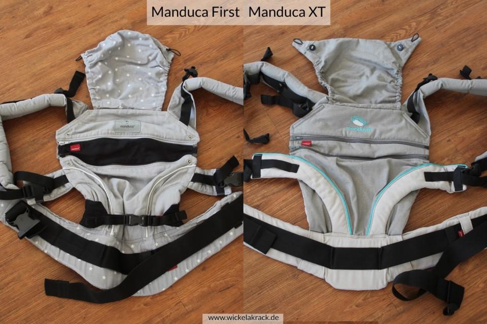 Manduca XT Manduca First Vergleich 02 - Manduca XT und Manduca First im Vergleich ( Vergleich, Tragehilfenvergleich, Tragehilfe, Trageberatung, Manduca XT, Manduca First, Manduca )
