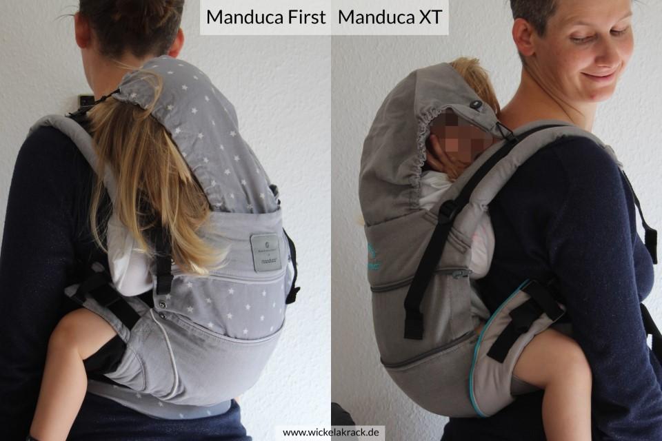 Manduca XT Manduca First Vergleich 04 - Manduca XT und Manduca First im Vergleich ( Vergleich, Tragehilfenvergleich, Tragehilfe, Trageberatung, Manduca XT, Manduca First, Manduca )